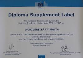 europass diploma supplement label office of the registrar  img