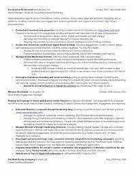 Social Media Marketing Resume Employer Branding 40 40 Cb Final Nor Impressive Social Media Marketing Resume