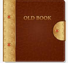 vector ilration old book cover leather leather cover books leather cover vector png
