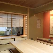 japanese office design. Example Of A Mid-sized Asian Home Office Design In San Francisco Japanese