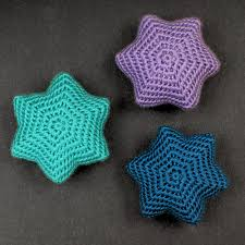Crochet Star Pattern Gorgeous Blog PlanetJune By June Gilbank Snow Star Ornaments Crochet Pattern