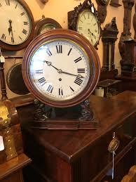 unusual 8 fusee dial clock
