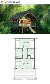 15 dream simple log home plans photo in popular off grid jungle shelter plan 556 4 384sft tiny house