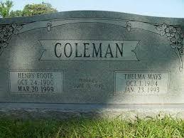 COLEMAN, THELMA - Dallas County, Arkansas   THELMA COLEMAN - Arkansas  Gravestone Photos