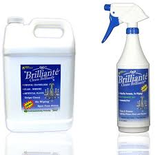 brilliante chandelier crystal cleaner brilliante savings pack one manual sprayer and one gallon refill