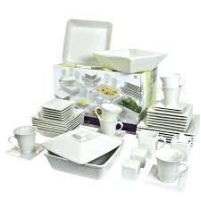 clear glass dish set glass dish sets nova entertaining sets square dinnerware set clear glass dinnerware