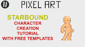 Pixel Character Template Starbound Character Tutorial Free Templates