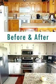 painting oak cabinets white painting oak kitchen