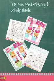 Num Noms Colouring Pages And Activities