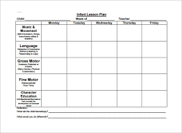 lesson plans sheet toddler lesson plan free resumess franklinfire co
