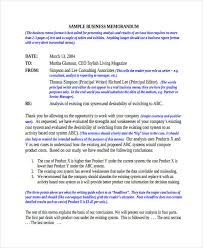 memorandum sample business 16 company memo examples samples examples