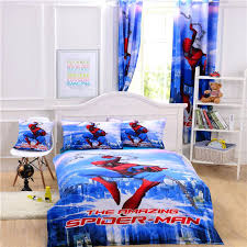 spiderman full size bedding bed sets twin queen unique gift high sheet set