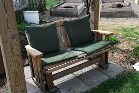 outdoor double glider front porch bench materials to consider inspiring outdoor glider chair designed with brown outdoor double glider