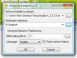 Universal Extractor  for Windows