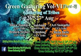 Green Party Flyer Party Flyer Green Gathering Moment Vol Vi Part I