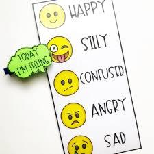 Feelings Chart Emoji Today Im Feeling Chart With Emojis