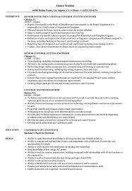 System Engineer Resume Control System Engineer Resume Samples Velvet Jobs 21