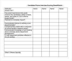 Resume Scoring Sheet Erkaljonathandedecker Best Resume Score
