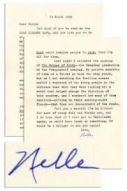 Lot Detail Harper Lee Letter Signed I Tremble At