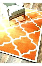 round area rugs orange area rug orange area rug burnt orange area rug with white