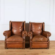 french leather club chairs view all images