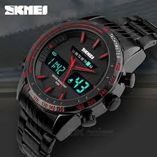 skmei dual display men s watch black red 1 cr2025 1 sr626sw skmei dual display men s watch black red 1 cr2025 1 sr626sw