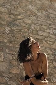 Sensual Woman Body Sexy Brunette Girl Undressing Under Sunlight Stock Photo Picture And Royalty Free Image Image 101553031