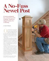 Build Newel Post Newel Post No Fuss Newel Post This Link Wants You To Join