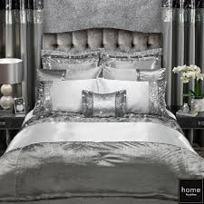 adriana double bedding set ca bedding sets ca pillowcases ca duvet silver bed linen
