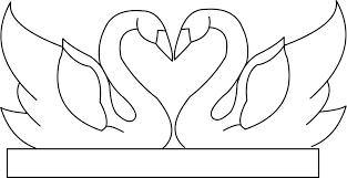 Half Heart Template Wedding Templates Icesculptingtools Com