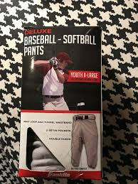 Franklin Deluxe Baseball Softball Pants Youth X Large 100 Double Knit Polyester 25725383917 Ebay