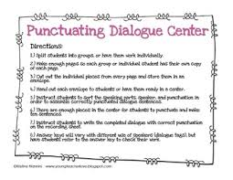 teaching dialogue in writing bie by kristine nannini tpt teaching dialogue in writing bie