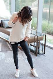 leather look spanx high waisted leggings black everyday style fall