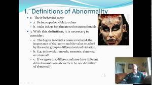 define abnormal