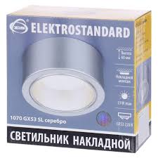 <b>Светильник накладной</b> Elektrostandard «Baden» 1070, GX53 ...