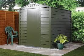 titan 600 garden shed range metal