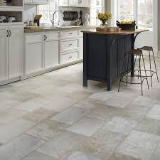 resilient natural stone vinyl floor upscale rectangular large scale travertine mannington parthenon in pumice kitchen floor