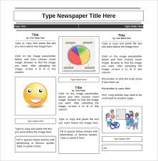 Basic Newspaper Template 28 Newspaper Templates Free Download