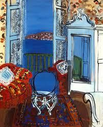 raoul dufy open window nice 1928 oil on canvas 65