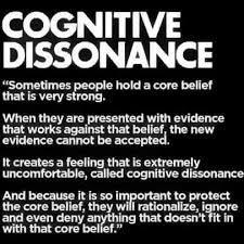 Cognitive dissonance. - The Science Explorer | Facebook