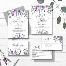 Black And Purple Invitations Purple Wedding Invitations Kits Pocket And Orange Invitation