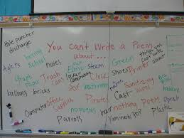good topics for poems