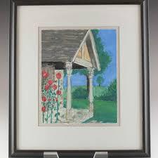 Original 1996 Watercolor from Cincinnati Artist Polly Hart | EBTH