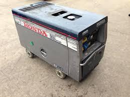 honda diesel generator. Lot 15 - Honda Diesel Generator