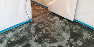 one of the most common uses for asbestos in building s is in flooring materials like vinyl floor tile linoleum and the mastic glues used to adhere