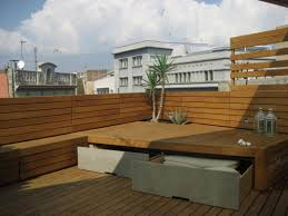 Built In Bench Built In Bench With Storage On Roof Terrace Outdoor Pinterest