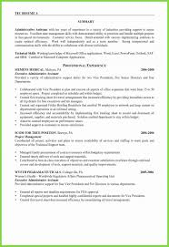 Letter Of Recommendation Executive Assistant Executive Assistant