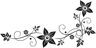 Border Black And White Flower Border Black And White Png 41810 Free Icons And Png