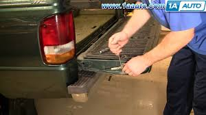 How To Replace Tailgate Cables 93-97 Ford Ranger