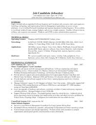 Ccna Resume Sample Fresh Software Engineer Template Word Download